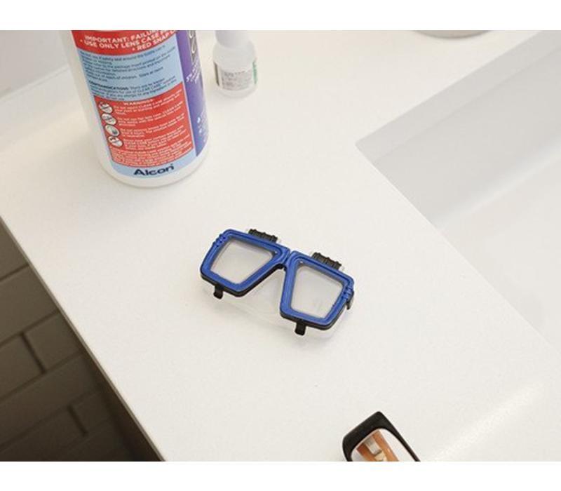 Contactlens bewaardoosje- duikbril