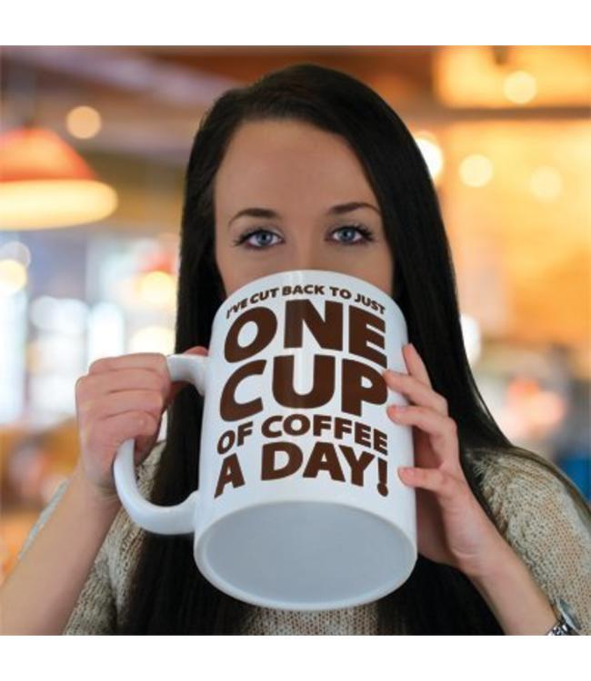 Big Mouth Gigantisch grote koffie beker!