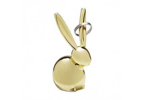 Zoola bunny ringholder brass