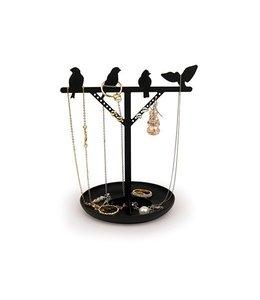Kikkerland Sieradenhouder- vogeltjes