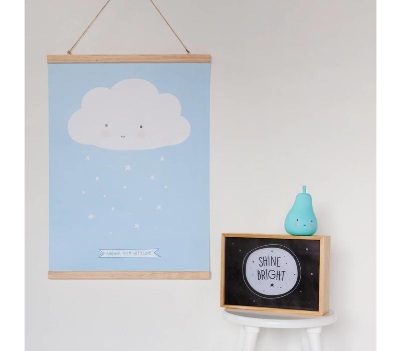 Poster hanger 30 cm.
