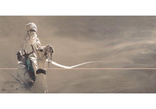 Cedric Cazal Le Mehari blanc