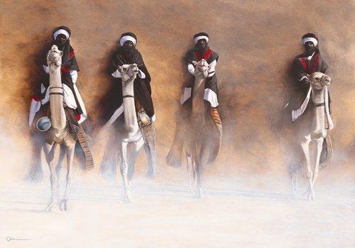 Cedric Cazal Les cavaliers de l'aube