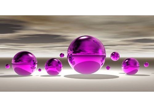 Peter Hillert Purple bowl III