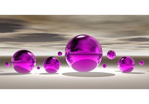 Peter Hillert Purple bowl III
