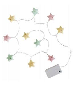 String Lights stars - pastel