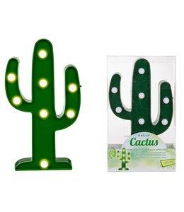 Cactus lamp met 8 led lampjes