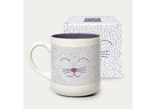 Toasted mug cat