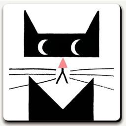 U Studio coaster Meow