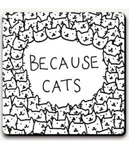 coaster Because cats