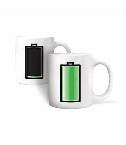 Kikkerland Warmte mok- batterijen