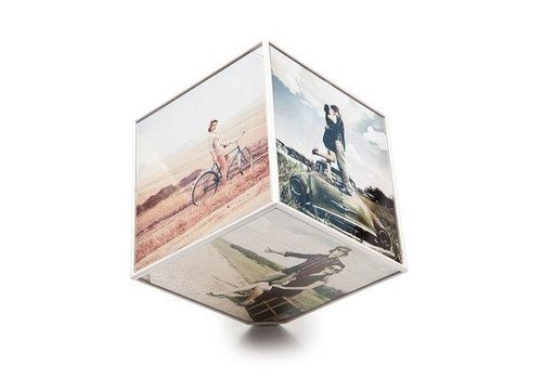 Balvi Foto kubus 15x15cm