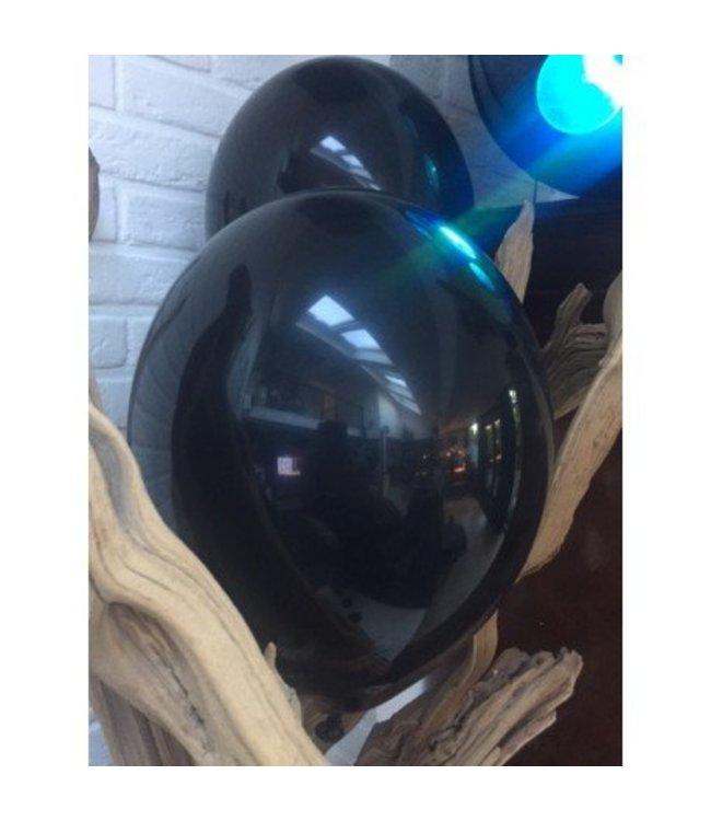 Black Flags Ballonnen Zwart set van 6