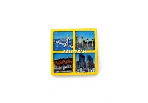 Magneet Rotterdam 4-luik