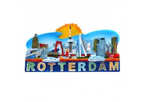 Magneet Rotterdam compilatie glitter