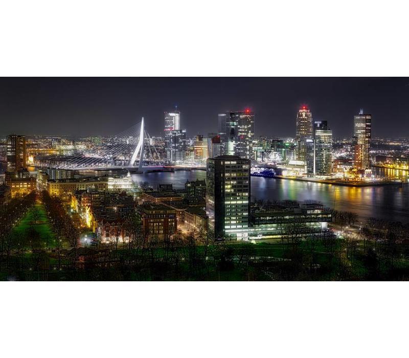The lights of Rotterdam