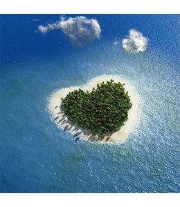 Hartvormig eiland 1