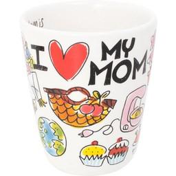 BLOND AMSTERDAM BEKER I LOVE MOM