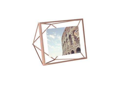 Prisma fotolijst 10x15cm Koper