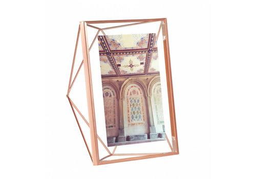 Prisma fotolijst 13x18cm Koper