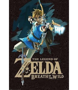 Zelda Breath of the wild game cover