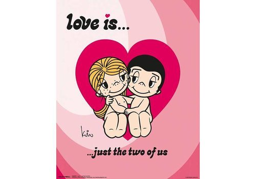 LOVE IS JUST THE TWO OF US