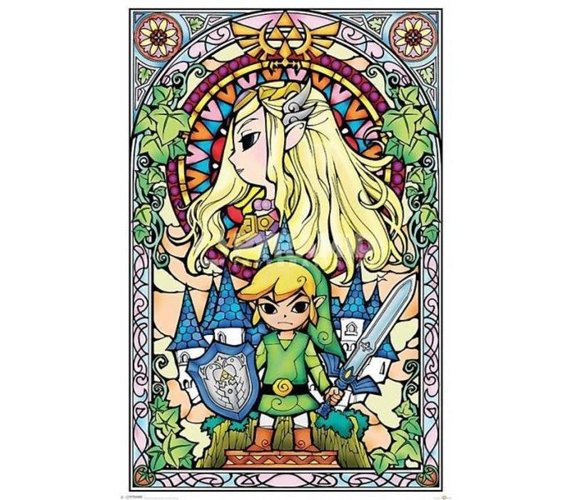 THE LEGEND OF ZELDA STAINED GLASS