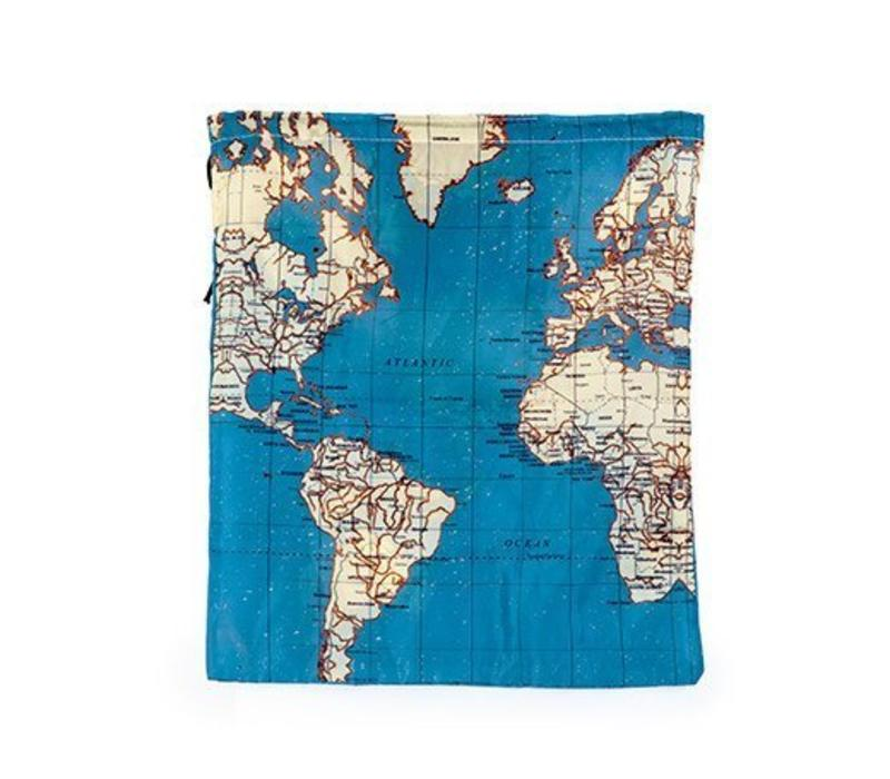 Vier reiszakken- Around the world