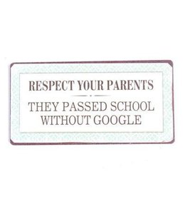 Magneet Respect your parents