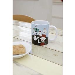 Kikkerland Story mug chicken