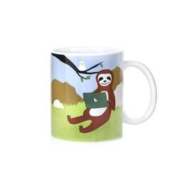 Kikkerland Story mug sloth