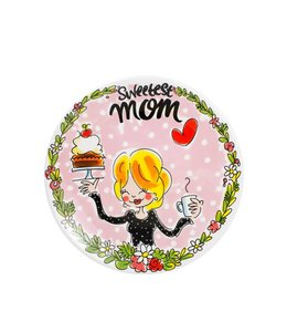 BLOND AMSTERDAM PLATE 22CM MOM MOTHERSDAY