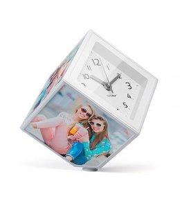 Balvi Photo-clock rotating photo frame and clock
