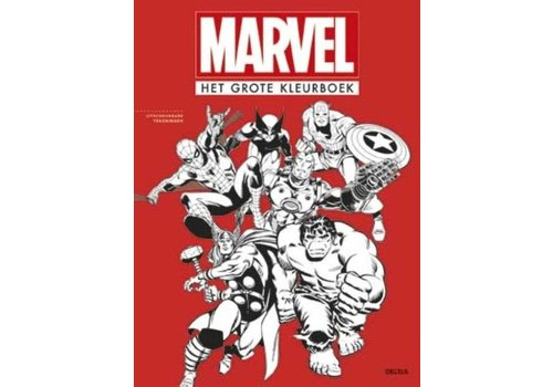 Deltas Marvel Het grote kleurboek