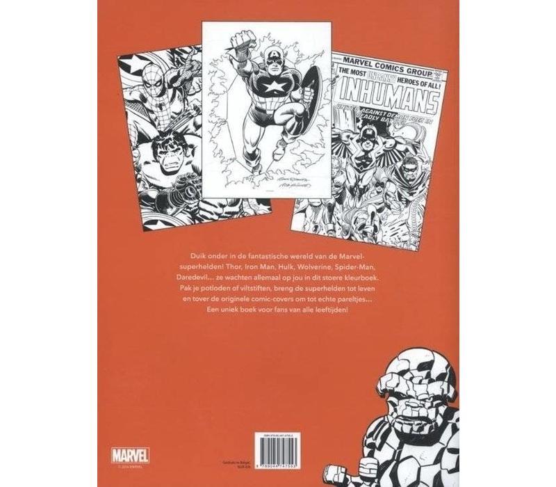 Marvel Het grote kleurboek