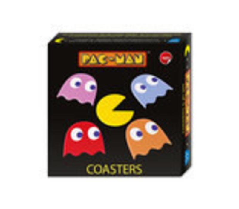 Onderzetters Pac-Man 5 stuks