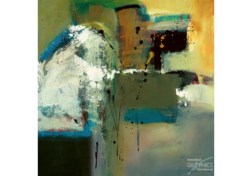 Abstract in Green I