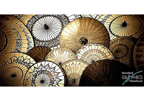 Ombrelles sepia Birmanie II