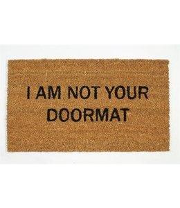 I am not your doormat