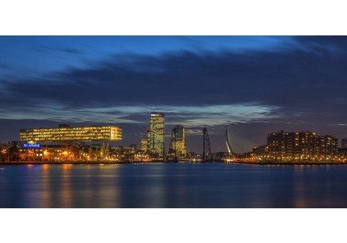 Rotterdam vanaf Maasboulevard
