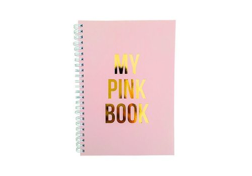 Notitieboek A5 - My pink book