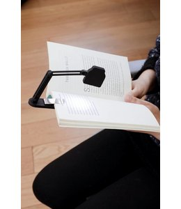 Kikkerland Slim folding book lamp