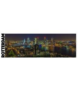 Mok Skyline Rotterdam by night