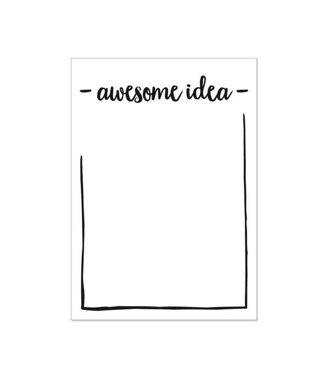 Beezonder Notititeblok Awesome idea