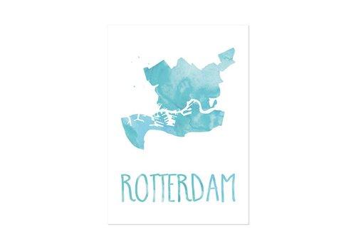 Beezonder Poster A4 Rotterdam