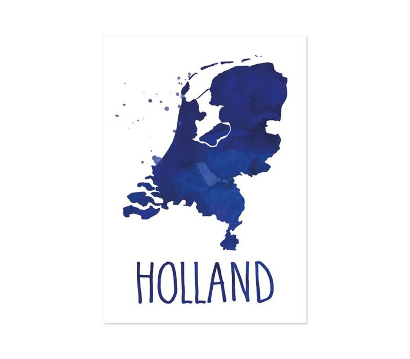 Poster A4 Holland