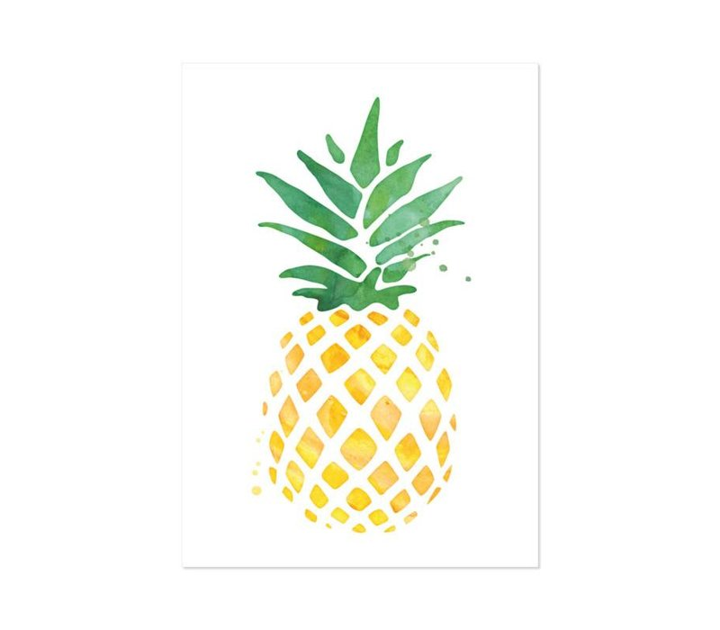 Poster A4 Ananas