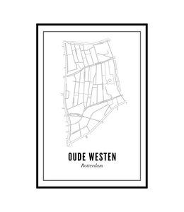 Wijck 30x40 Poster Oude Westen