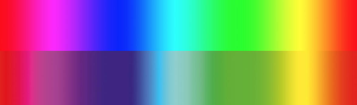 Kleur verschil in scherm en print