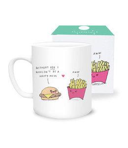Sask Draws Mug - Happy Meal